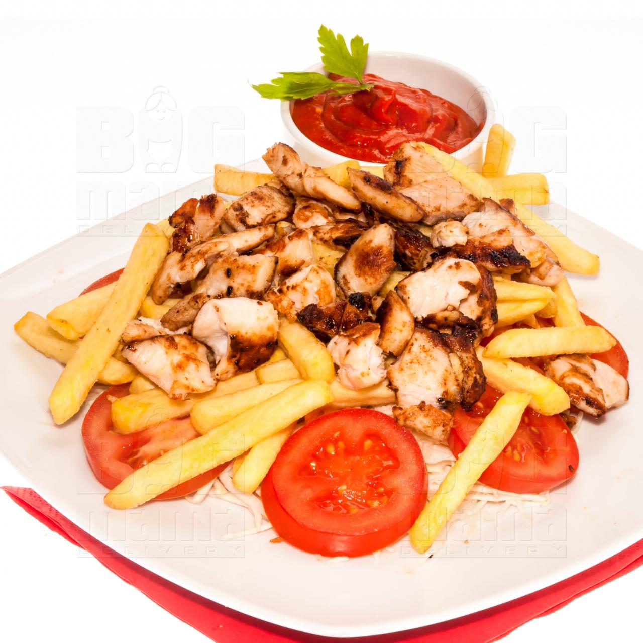 Product #142 image - Kebab mic cu sos