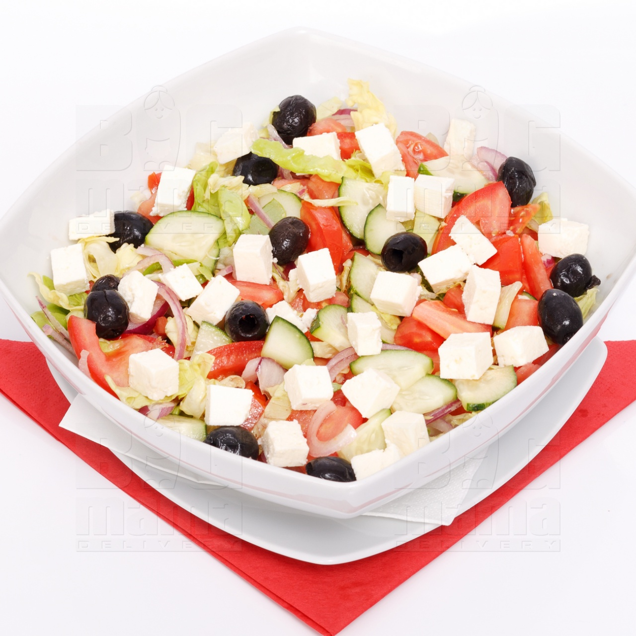 Product #170 image - Salată grecească, 1/2 porție