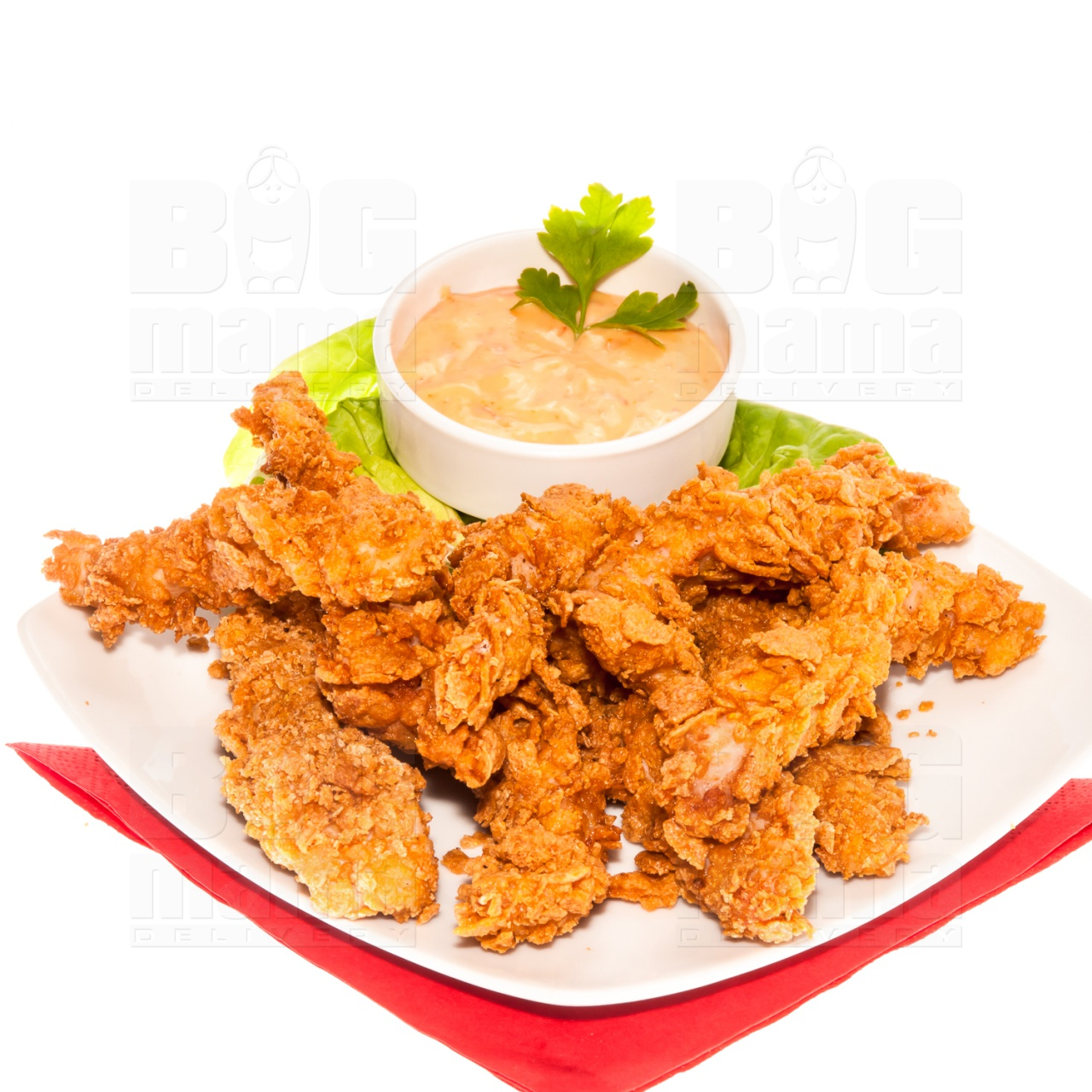 Product #189 image - Crispy chicken cu sos, 1/2 porție